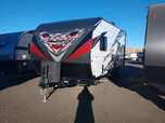 2017 Stealth CB1913 with 15' garage and queen bed drop down