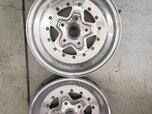 2 front weld wheels strange  for sale $450