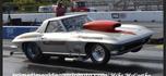 Corvette Drag car.