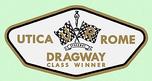Utica Rome Dragway Class Winner Decal  for sale $7.49