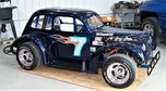 HISTORIC LEGENDS RACE CAR with NASCAR background  for sale $6,500