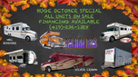 RACING RVS SUPER SALE