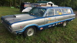 1966 Plymouth Italian Connection drag wagon  for sale $8,000