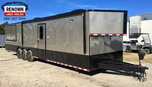 BBQ Concession w/Living Quarters 8.5x34 Triple Axle   for sale $39,678