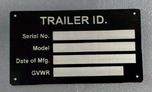 Trailer plate  for sale $25