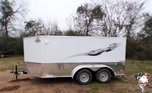 2021 Cargo Mate 7 x 12 Low Hauler Motorcycle Trailer  for sale $7,799