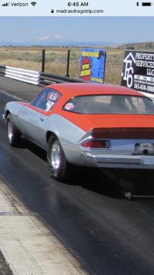 1976 camaro bracket s/p