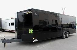 *Ready Dec.* 28' 2022  Transport Car Hauler w/Blackout Pkg.