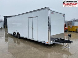 2021 United GEN4 8.5x28 Extra Height Car/Race Trailer #4244