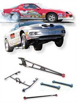 Camaro/Firebird Bolt-on Street/Strip Rear Suspension Package
