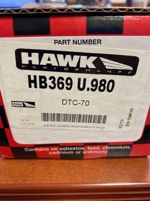 HB369U.980 Brake Pads
