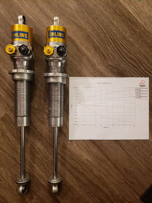 Ohlins ILX 36 A21701 shocks (rebuilt by Ohlins)