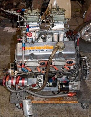 PANELLA RACE CAR MOTOR