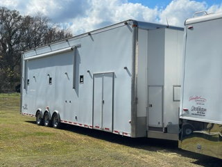 AVAILABLE NOW!!  2007 LIFT GATE Stacker Race Trailer
