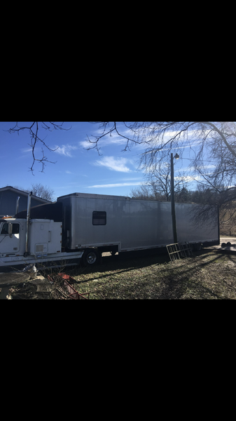 1993 Freight Liner and Trailer  for Sale $40,000
