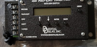 new digital delay rpm switch and recorder