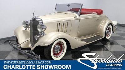 1933 Chevrolet Master Cabriolet