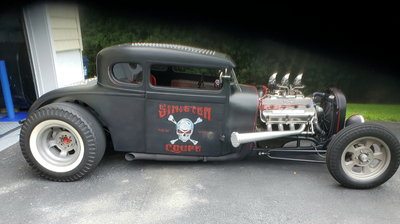 HIGH END RAT ROD 1929