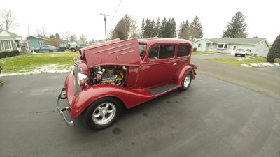 SWEET STEEL 1934 CHEVY WITH ALL THE GOODIE