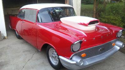 Good Old Nostalgia 57 Chevy Drag Car
