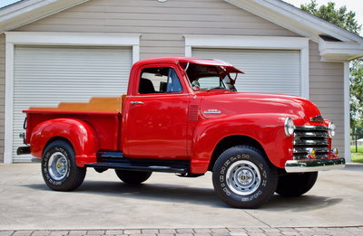 1953 Chevrolet 3100 1/2 Ton with 4-wheel Drive