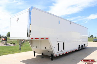 2021 inTech 42' All Aluminum Sprint Car Trailer