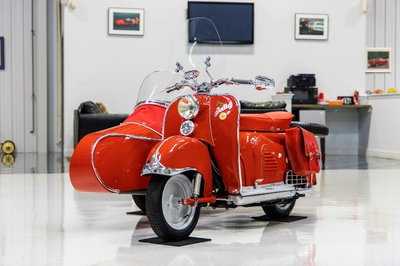 1957 Zundapp Bella R203 Scooter and Steib RS1 Sidecar