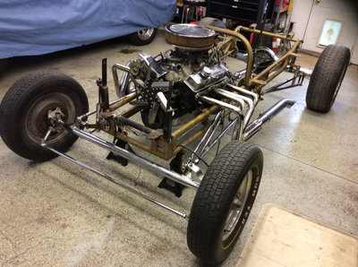 1923 T Roadster chassis