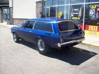 Last Few Days This Cheap-Built 1972 Pro-Street Vega