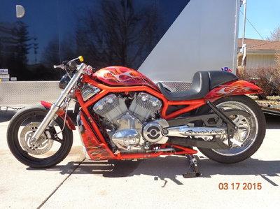 Harley Vrod Destroyer