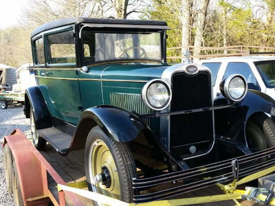 1927 CHEVROLET COUPE