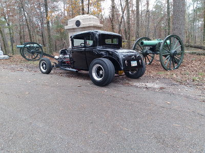 1930 Ford steel coupe Trade 4 race car