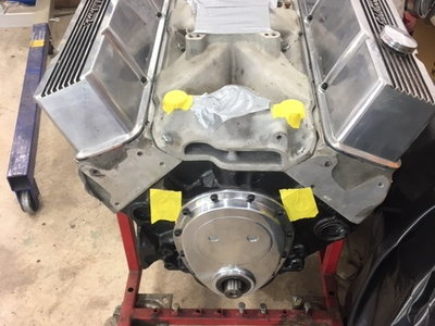 Fresh, All Forged 406 Complete-Intake to Pan
