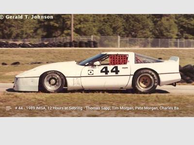 C4 IMSA corvette body