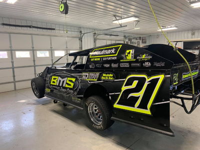 2021 BMS Modified roller, low nights, never wrecked