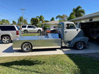 1950 Chevy Cab Over Engine coe mid engine
