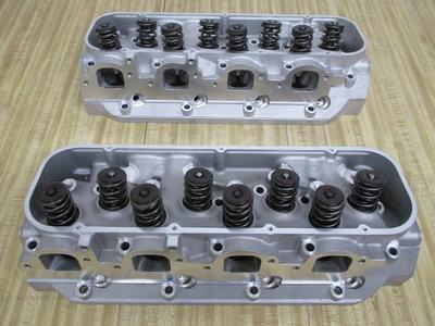 BBC 454 Aluminum Cylinder Heads CNC