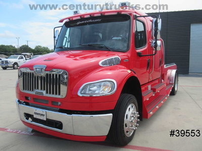 2013 Freightliner® M2 CREW CAB SPORT CHASSIS  7457 MILES