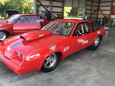 1977 Chevy Monza Super Pro Car