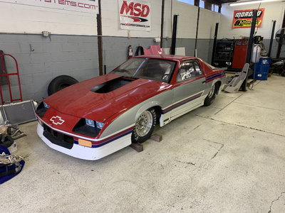 88 Camaro Tube chassis chrome Molly