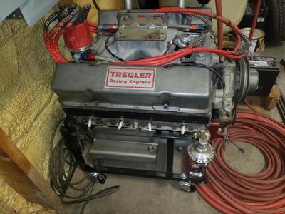 408 Small Block Tregler Race Engine