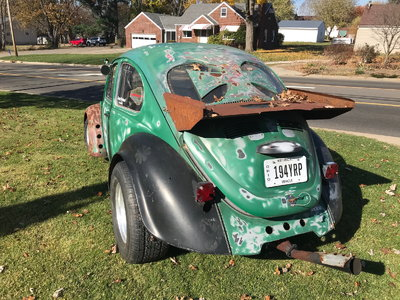 1970 Pro Street VW Bug