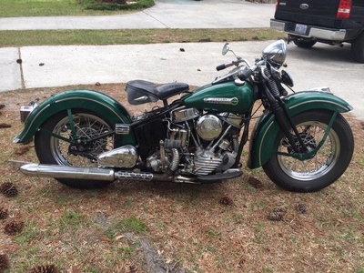 1948 Harley Davidson EL Panhead