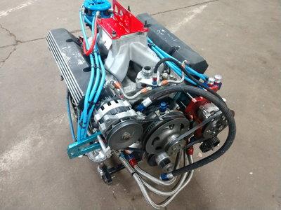 9:1 Fisher Race Engine