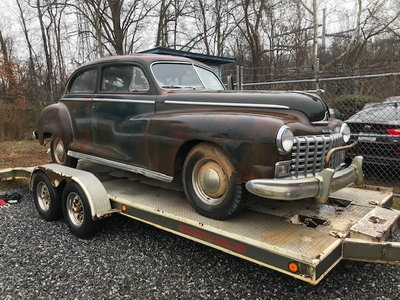 1946 Dodge Deluxe 2 Dr