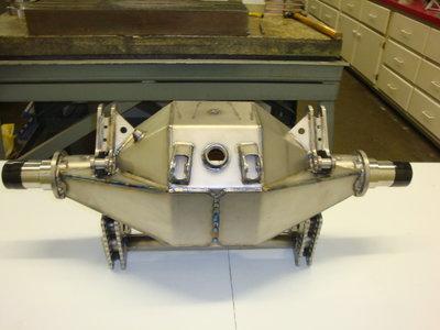 Pro-Mod Titanium Axle Housding