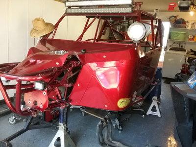 PSD motorsports custom long travel chassis