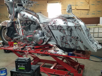 TRADE CUSTOM BAGGER FOR RACE READY MODIFIED
