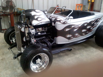 Custom 32 Ford Roadster