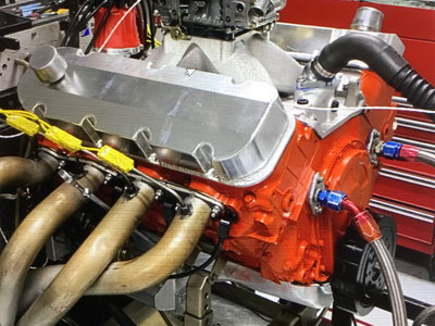 499 cuin B.B. CHEVROLET ENGINE COMPLETE